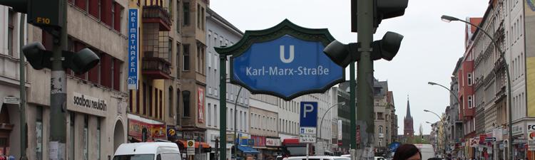 U-Bhf-Karl-Marx-Straße in Berlin-Neukölln