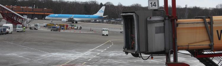 Rollfeld am Flughafen Tegel