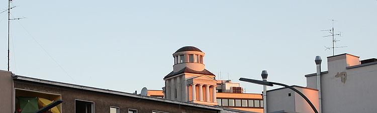 Metropol tempelartige Dachlaterne