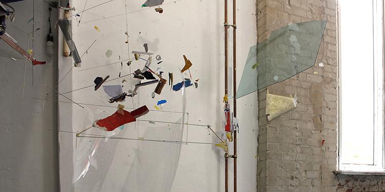 "Diana Sirianni ""Desorden en palacio"" im Atelier Kristina Berning"