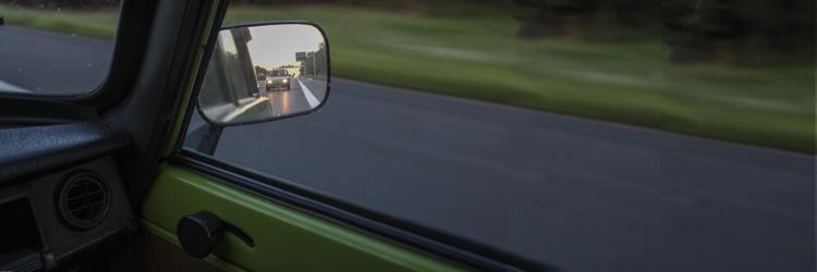 Wartburg 353 W im Rückspiegel